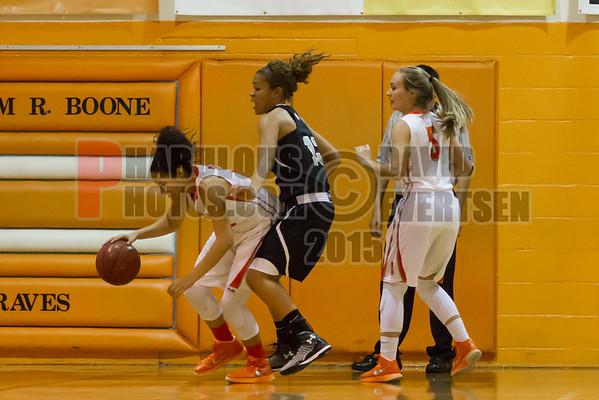 Boone Girls Varsity Basketball #33 - 2015