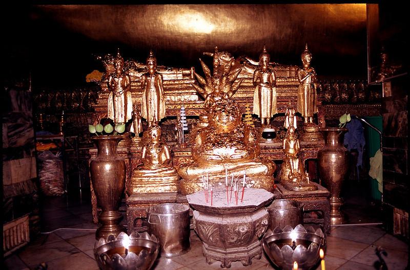 a shrine in Bangkok