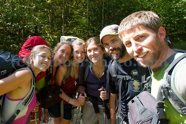 Hiking Long Trail w/ Johnson Girls - Sept 11