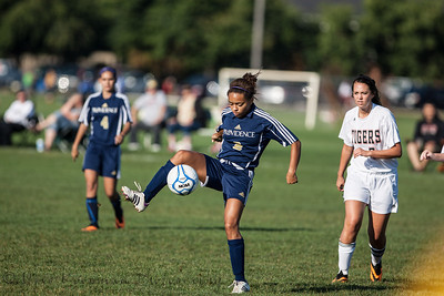 2013 PHS Girls Soccer vs Lawrenceburg