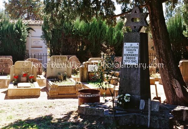 BOLIVIA, Sucre. Jewish Cemetery, general cemetery (8.2003)
