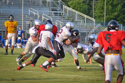 2011-08-11 Butler High School Football - Scrimmage - North Meck and Berry