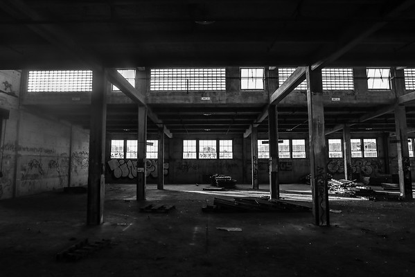 Abandoned Navy Warehouses