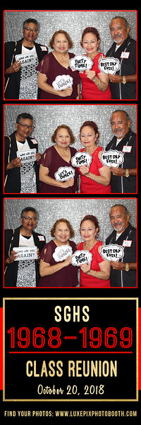2018.10.20 South Gate HS Reunion, Class of 1968 & 1969