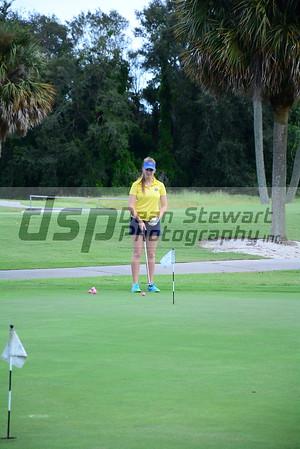 Girls Golf 8.20.18