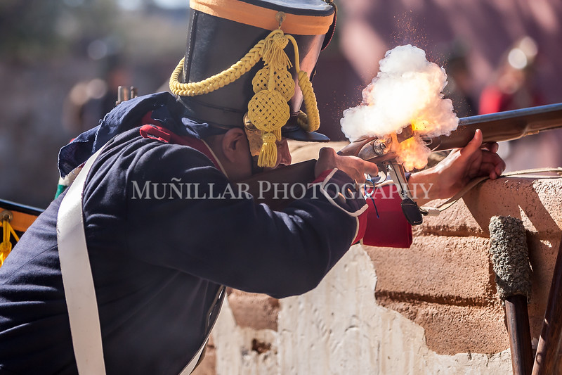 """Battle of Bejar in La Villita, San Antonio. Hosted by the San Antonio Living History Association. Images taken by Muñillar Photography, to see more of our work, visit  <a href=""""http://www.munphoto.com"""">http://www.munphoto.com</a>"""