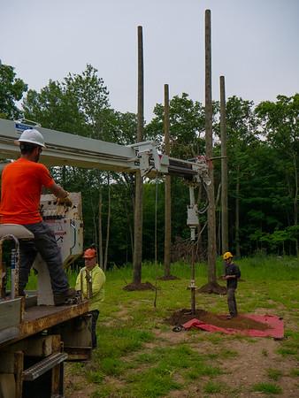 Pole Course construction