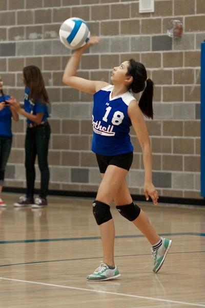 "BHS Volleyball ""C Team"" v Newport 2011"
