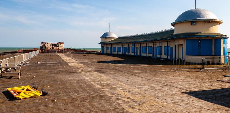 Derelict Hastings Pier