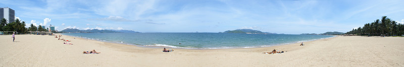 Beach at Na Trang, Vietnam