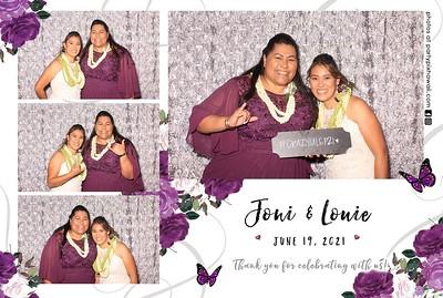 Louie & Joni's Wedding (LED Dazzle)