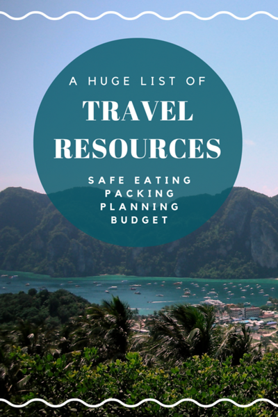 a huge list of travel resources