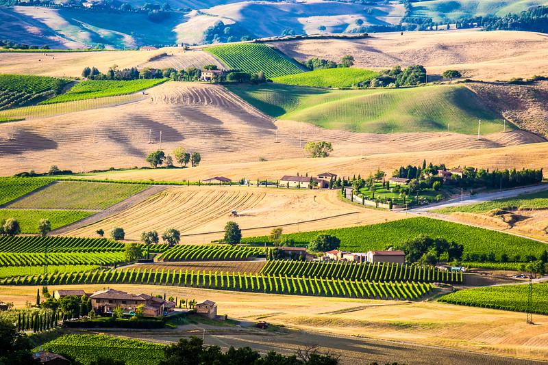 Montalcino Tuscany, Italy