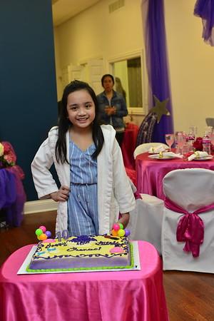 Frances' SPA-tacukar Birthday Party