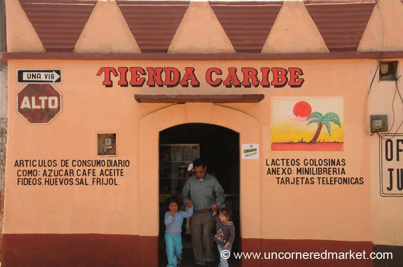 Tienda with Family - Totonicapan, Guatemala