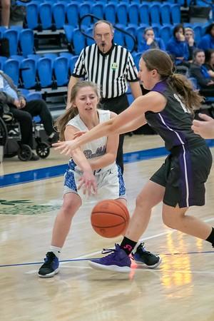 DHS Girls Basketball 01-20-2020