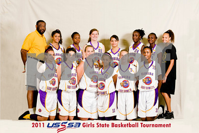 8P Florida Lady Comets Team Photos