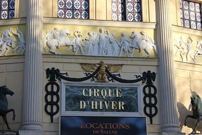 Cirque d'hiver & Filles du Calvaire