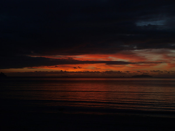 Sunrise Over Waipu, Bream Bay