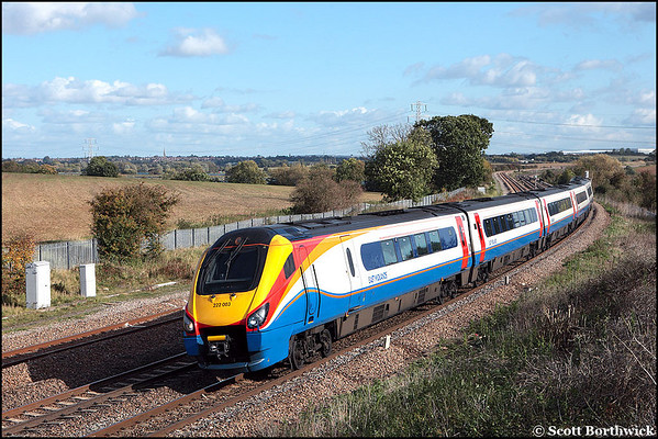 Class 222 (Meridian): East Midlands Trains