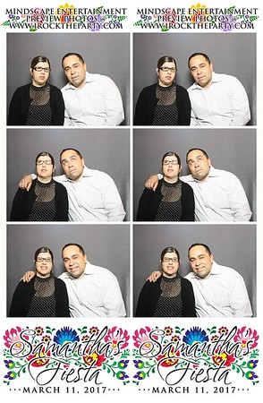 Samantha's Sweet 16 Fiesta - Photo Booth Pictures