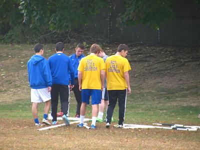Boys Var Soccer volunteers 10-19-13