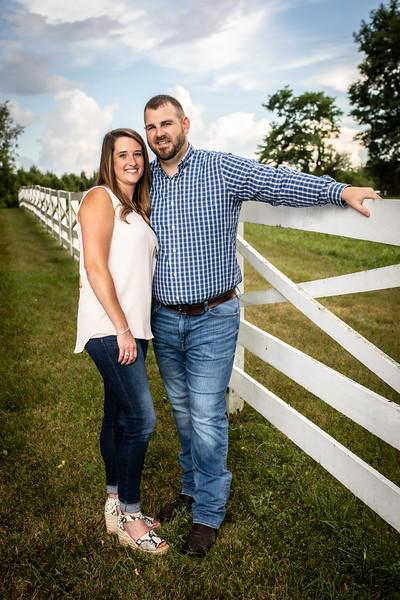 Pam & Jamie Engagement Photos Color