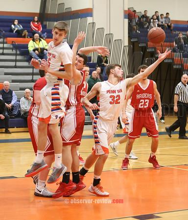 Penn Yan Basketball 2-14-17
