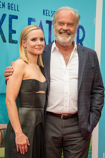 HOLLYWOOD, CA - JULY 31: Kristen Bell, Kelsey Grammer arrive at the Premiere Of Netflix's 'Like Father' at ArcLight Hollywood on Tuesday, July 31, 2018 in Hollywood, California. (Photo by Tom Sorensen/Moovieboy Pictures)