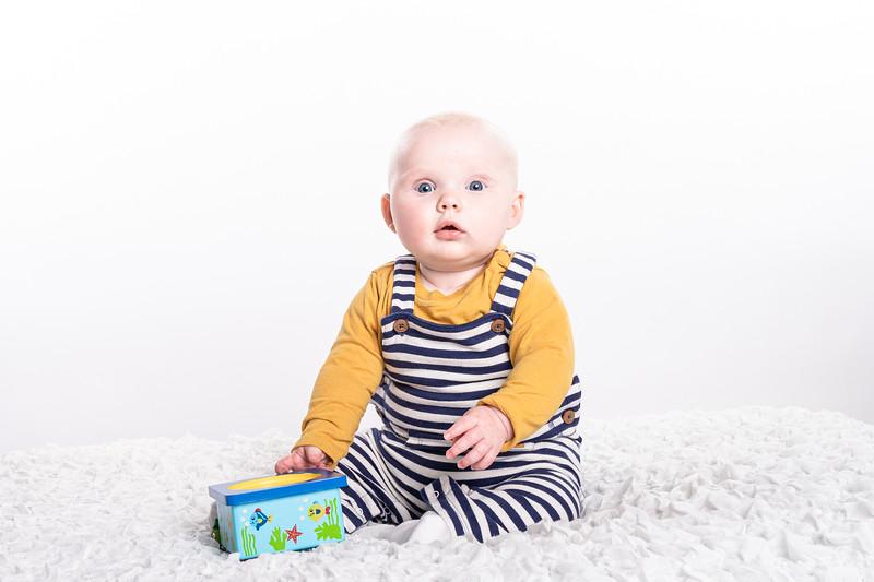 Francesca at 6 months