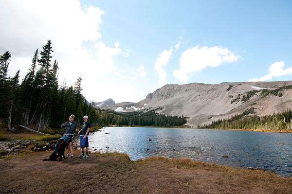Blue Lake Hike - 10/2/11