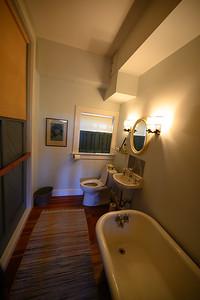 Bathroom off the living room