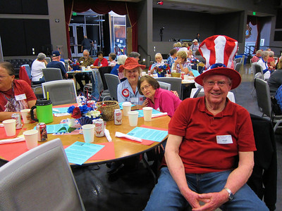 Red , White and Blue Luncheon,  May 26, 2017