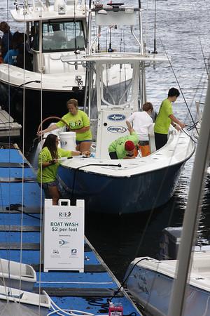 Boat Wash - REEF 2014