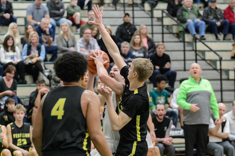 THS Boys Varsiry Basketball vs West Linn