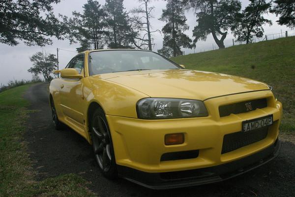 Nissan R34 GTR V-Spec