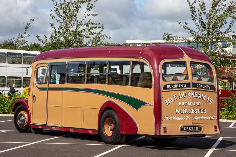 1948 AEC Regal III with Burlingham body