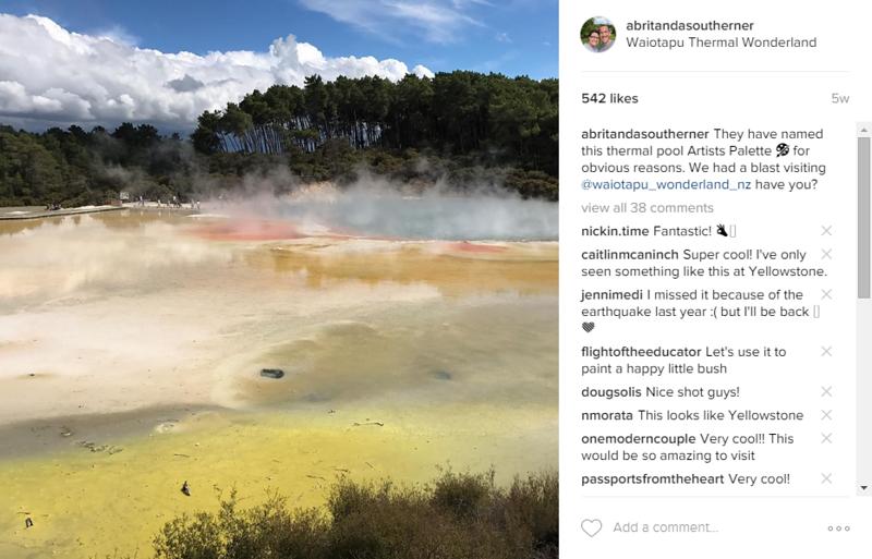 waiotapu geothermal wonderland