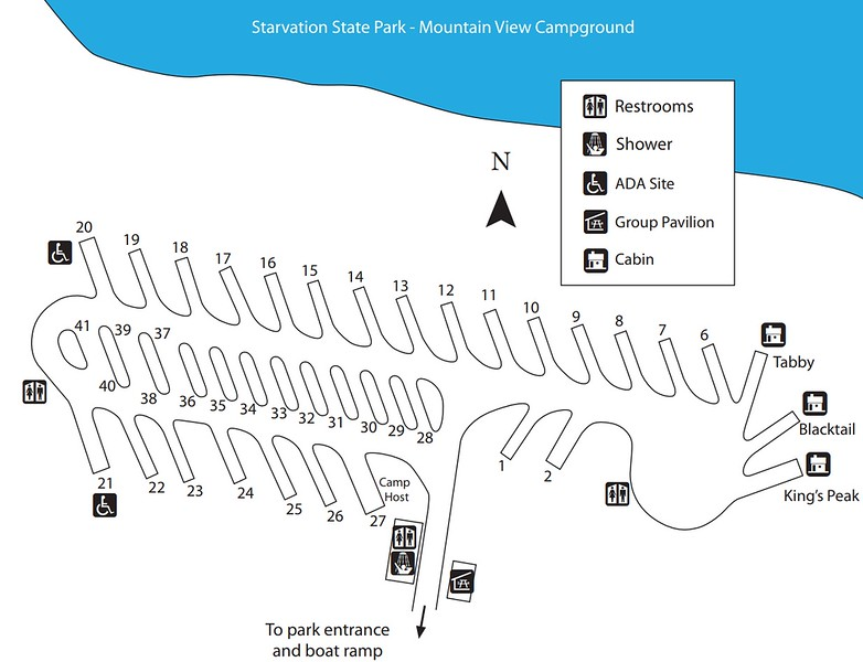 Starvation State Park (Mountain View Campground)