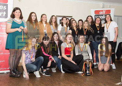 Llanelli Wanderers Girls Presentation Night 2020