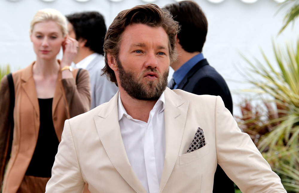 . Actor Joel Edgerton gestures to photographers during a photo call for the film The Great Gatsby at the 66th international film festival, in Cannes, southern France, Wednesday, May 15, 2013. (AP Photo/Francois Mori)