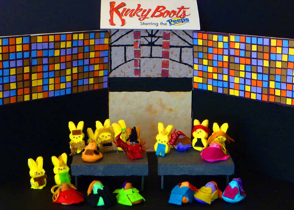 ". ""Peeps on Broadway,\"" by Ted Bougie"