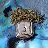 'Joys I Double, Sorrows I Divide' 18kt Rose Gold Cast Pendant, by Seal & Scribe 0