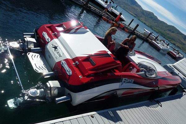 Lake Chelan Boating w Joe & Mike