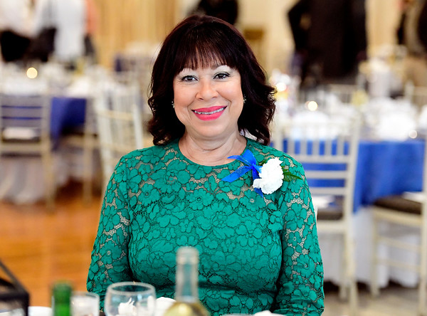 6/5/2019 Mike Orazzi | Staff Mitzy Rowe, Chief Executive Officer of the Bristol Housing Authority during the 130th Annual Awards Dinner held at the Aqua Turf Club in Southington Wednesday evening.