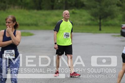 2018 10 Miler 5k Start