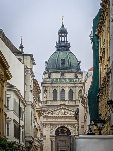 Day 3 - Wed May 15 - Budapest.  St. Stephen Basilica