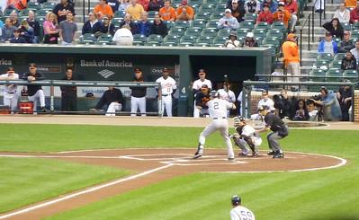 Yankees at Camden Yards