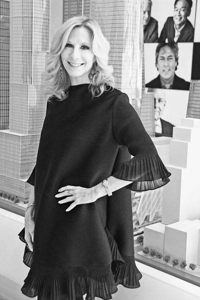 Randi Schatz AVENUE MAGAZINE Presents the SALON DINNER & CONVERSATION with Architect and Designer DAVID ROCKWELL  10 Hudson Yards NYC, USA - 2017.10.17 Credit: Lukas Maverick Greyson