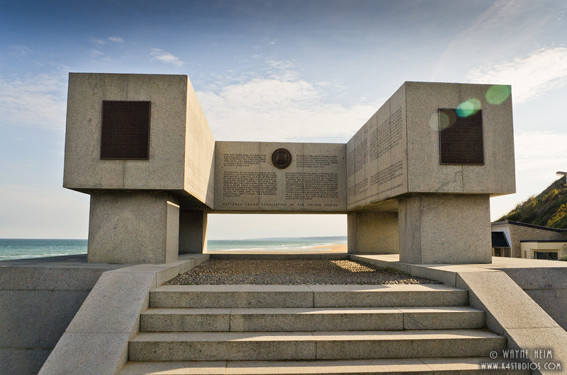 Monument Normandy     Photography by Wayne Heim